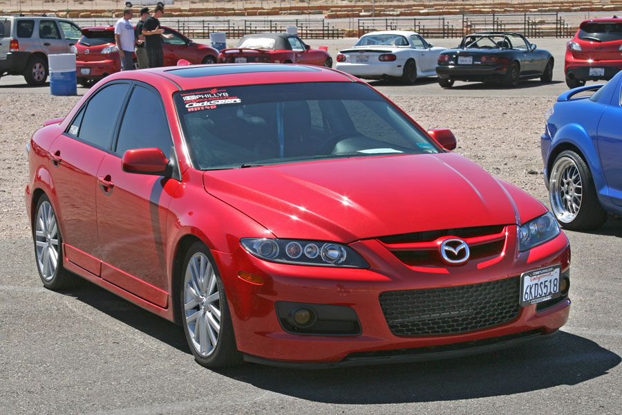 Mazda6 performance parts for Mazdaspeed 6 exterior mods