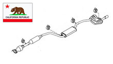 2004-2009 Mazda3 Exhaust California Emissions Version