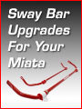 Sway Bar Upgrades