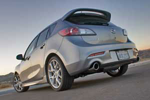 Mazda3 Exhaust Configurations