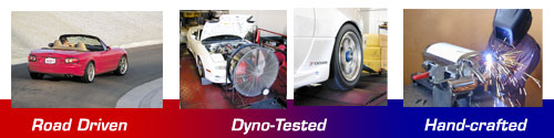 Racing Beat Miata Exhaust: Road Driven, Dyno-Tested, Hand-crafted