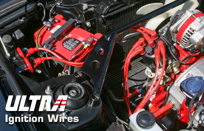 Ultra Ignition Wires Race For 87 91 Rx 7 Tii Racing Beat