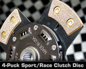 Sport/Race 4-Puck Clutch Disc