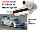 Race Exhaust System V2 Extended Tip