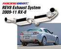 REV8 Exhaust System - Single Tip