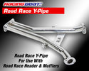 Road Race Y-Pipe