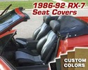 Replacement Seat Covers - Custom Colors/Fabric