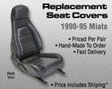 Replacement Seat Covers - Black