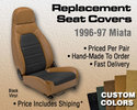 Replacement Seat Covers - Custom Colors/Material