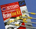 Brake Line Kit - Stainless Steel