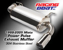 Power Pulse Miata Muffler - Auto Trans