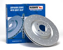 Hawk Quiet Slot Rotors