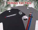 Holiday Fan Pack - Dark Gray