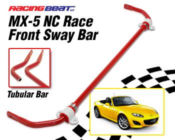 Sway Bar - Tubular Front RACE 06-15 MX-5 NC