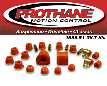 Prothane Bushing Kit - Complete 86-91 RX-7