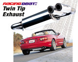 Power Pulse Twin Tip Muffler<br/>99-05 Miata 99-05 Miata