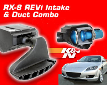 REVi Intake and Duct Combo for 04-08 RX-8 - Racing Beat