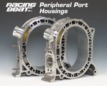 : Engine - Rotor Housings & Aluminum Side Housings : RB Peripheral Port Housing 74-85 13B N/Turbo
