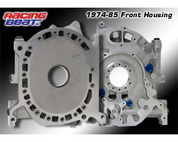 : Engine - Rotor Housings & Aluminum Side Housings : Aluminum Front Side Housing 74-85 Engines