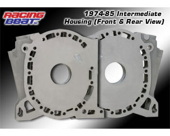 : Engine - Rotor Housings & Aluminum Side Housings : Aluminum Int Side Housing 74-85 Engines