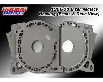 : Engine - Rotor Housings & Aluminum Side Housings : Aluminum Int Side Housing 86-95 Engines