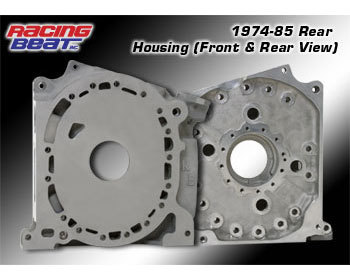 : Engine - Rotor Housings & Aluminum Side Housings : Aluminum Rear Side Housing 74-85 Engines
