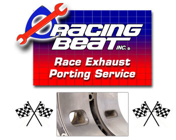 : Engine - Porting Services : Race Exhaust Porting Service