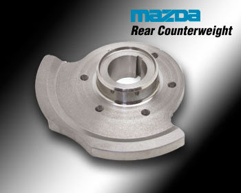 : Flywheels : Rear Counterweight 74-82 12A