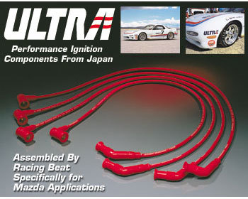 : Ignition : ULTRA Ignition Wires - Race 86-92 RX-7 NT