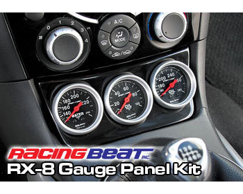 : Cooling System : Complete Gauge Panel Kit - Metric 04-08 RX-8