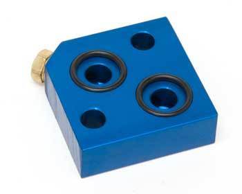: Oil System : Oil Filter Bypass Block Kit 79-95 Rotary Engine