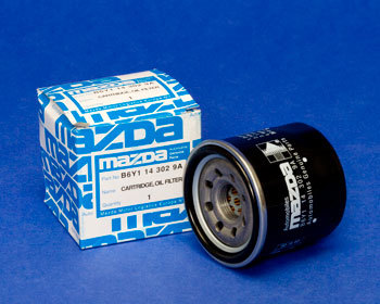 : Oil - Lubrication : Mazda OEM Oil Filter RX7, RX8, Protege, Miata