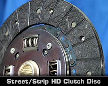 : Clutch/Pressure Plate : Street/Strip HD Clutch Disc 83-92  Non-Turbo