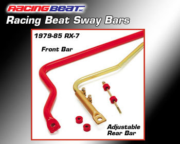 : Suspension - Sway Bars : Sway Bar - Adjustable Rear 79-85 RX-7