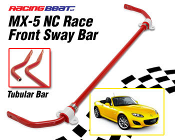 : Suspension - Sway Bars : Sway Bar - Tubular Front RACE 06-15 MX-5 NC