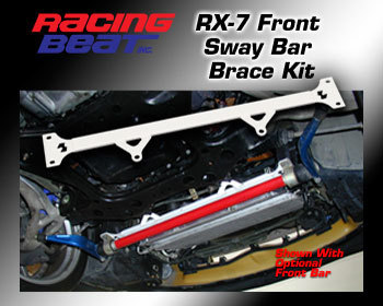 : Suspension - Sway Bars : Front Sway Bar Mount  Brace Kit 93-95 RX-7