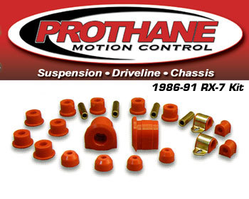 : Suspension - Bushings : Prothane Bushing Kit - Complete 86-91 RX-7