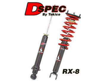 : Suspension - Shocks : Tokico D-Spec Shocks 04-08 RX-8