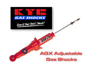 : Suspension - Shocks : KYB AGX Adjust Shocks- Front Left 86-92 RX-7