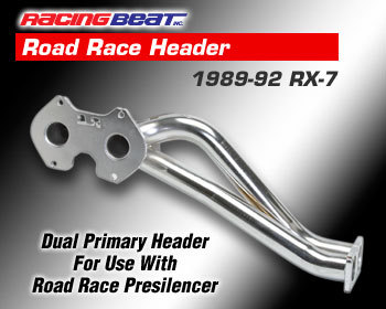 : Exhaust - Complete Systems : Road Race Header 89-92 RX-7