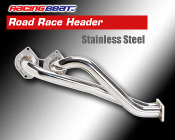 : Exhaust - Headers : Road Race Header - Stainless Steel 89-92 RX-7