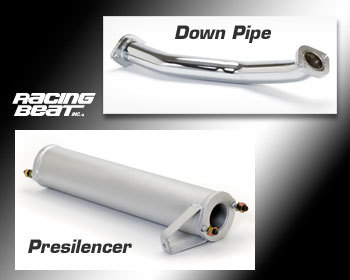 : Exhaust - Race Pipes : Down Pipe / Presilencer Kit 89-92 RX-7 Conv NT Auto
