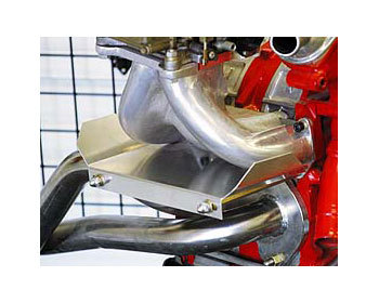 : Intake - Holley Components : Intake Manifold/Header Heat Shield