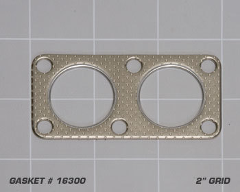 : Exhaust - Gaskets : Road Race Header Outlet Gasket