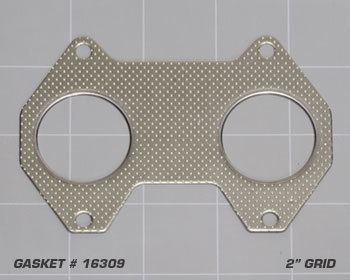 : Exhaust - Gaskets : Engine-to-Header Gasket 84-92 13B 6-Port Engine / 20B 3-Rotor Engine