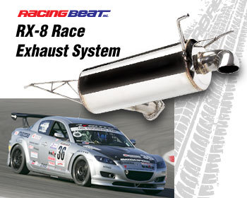 : Exhaust - Cat-Back Systems : Race Exhaust System 04-11 RX-8