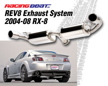 : Exhaust - Cat-Back Systems : REV8 Exhaust System 04-08 RX-8