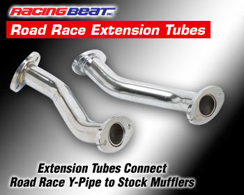 : Exhaust - Complete Systems : Road Race Extension Tubes 86-92 RX-7