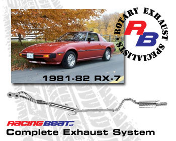 : Exhaust - Complete Systems : Exhaust System 81-82 RX-7