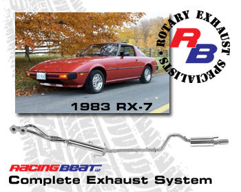 : Exhaust - Complete Systems : Exhaust System 83 RX-7